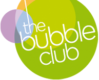 the bubble club logo