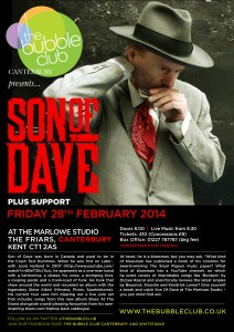Son of Dave flyer